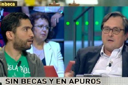 """Paco Marhuenda a Tohil Delgado: """"Tu visión 'happy flower' de la Educacion está bien pero no funciona"""""""