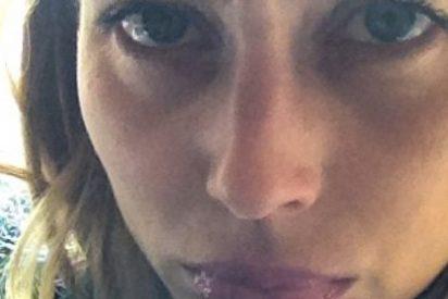 La novia de Puyol, de morros en Instagram