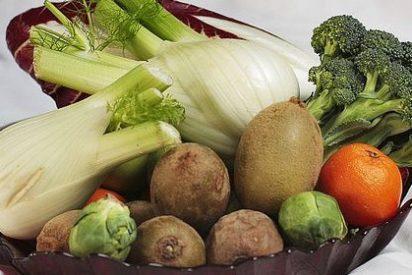 Siete porciones diarias de frutas y verduras resulta muy eficaz para alargar el periodo vital de las personas