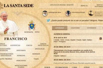 Nueva web de la Santa Sede