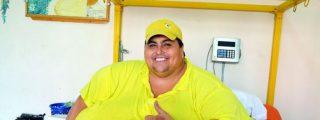 Muere por la dieta el hombre que pesaba 600 kilos y que estuvo 11 años en la cama