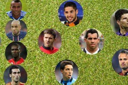 El once ideal con los descartes del Mundial