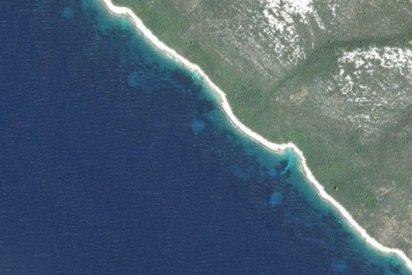 Aparecen unos misteriosos círculos perfectos frente a la costa de Croacia