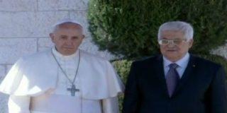 """El Papa defiende en Belén """"el derecho de dos Estados a existir y a gozar de paz y de seguridad"""""""