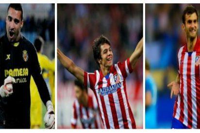 El Villarreal negocia por tres jugadores del Atlético