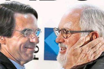 La Razón ignora completamente a Aznar en el acto con Cañete
