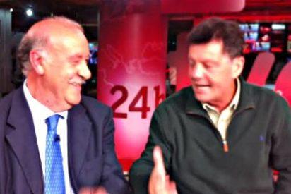 """Alfonso Rojo, a Vicente del Bosque: """"¿Se escuchan muchas tonterías en boca de los periodistas cuando se habla de la Selección?"""""""