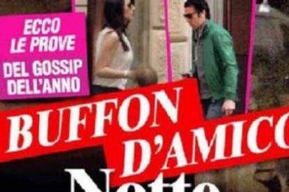 Pillan a Buffon con su amante periodista