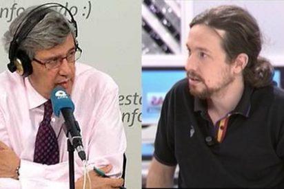"""Buruaga llama """"gilipollas"""" a Pablo Iglesias: """"¿Y este es el candidato a las elecciones europeas..? ¡Buah!"""""""