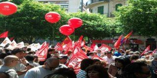 Celebran en Palma el 'día del trabajo chapuza' y se dejan la casa sin barrer