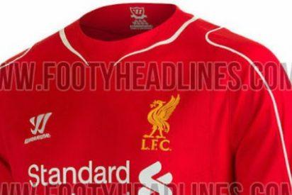 Las nuevas camisetas del Liverpool para su regreso a la Champions