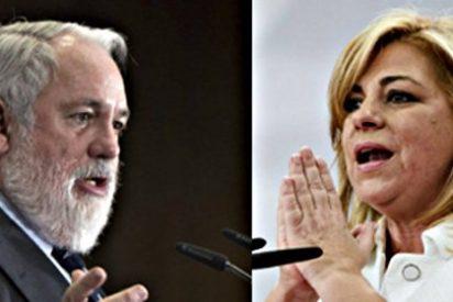 El paro español centra los reproches entre Arias Cañete y Valenciano en el debate 'europeo'