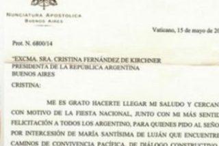 Lombardi confirma ahora que la carta de Francisco a Cristina es verdadera