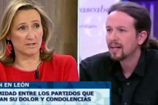 """Isabel Durán a Pablo Iglesias por frivolizar con el asesinato de Isabel Carrasco: """"Es una atrofia moral de una gravedad extrema"""""""