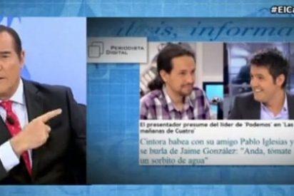 """Antonio Jiménez: """"Jaime González está siendo presa de una especie de síndrome de Estocolmo con Pablo Iglesias"""""""