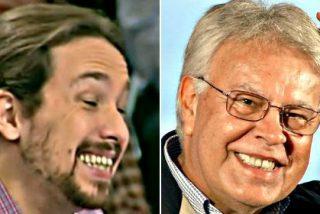 """Pablo Iglesias: """"Felipe González ha quedado reducido de forma patética a una caricatura de sí mismo"""""""