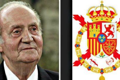 El Gobierno español defiende el yugo y las flechas en el escudo de Casa del Rey