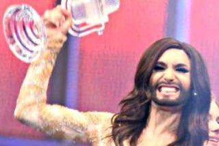 Conchita Wurst, la 'mujer barbuda' de Austria, gana el Festival de Eurovisión