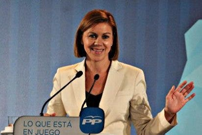 Si hubiera ahora elecciones en Castilla-La Mancha, la presidenta Cospedal barrería a García Page