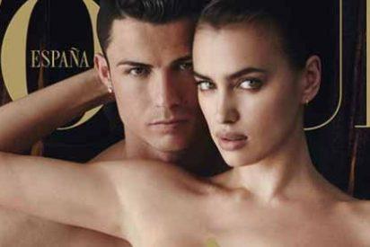 Cristiano posa desnudo con su novia Irina