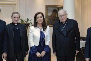 Cristina Fernández recibe a la cúpula de la Iglesia argentina