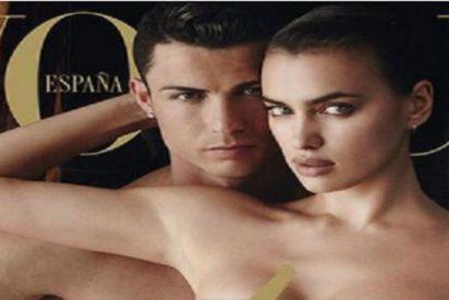 Cristiano Ronaldo se pega desnudo a Irina Shayk y la modelo no se queda corta