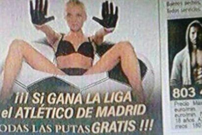 """""""Putas gratis"""" tras la victoria del Atlético en Liga"""