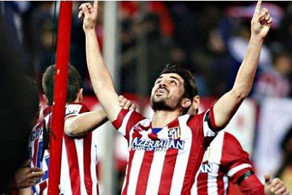 El Atlético negocia la renovación de Villa