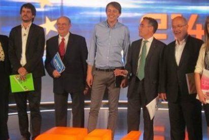 CiU y ERC evitan el 'cuerpo a cuerpo' en un debate televisivo
