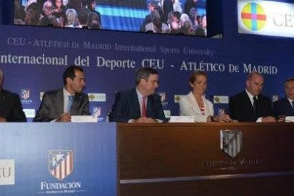 San Pablo CEU y Atlético de Madrid crean la Universidad Internacional del Deporte