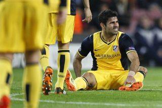 """Enfado """"monumental"""" de Simeone con Diego Costa"""