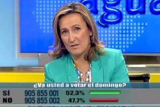 Isabel Durán pone a caldo a los candidatos por esconderse de los ciudadanos