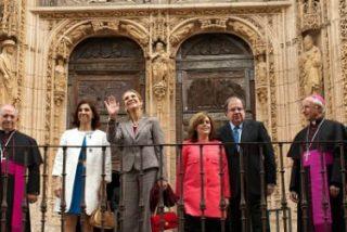 La infanta Elena inaugura Las Edades del Hombre en Aranda de Duero