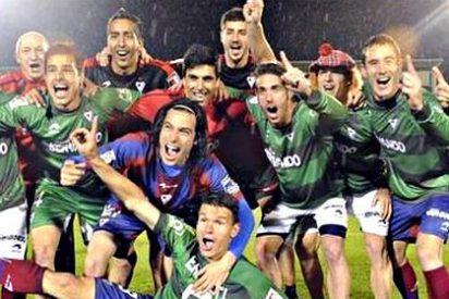 El modesto y belicoso Eibar salta de Segunda B a Primera en dos años