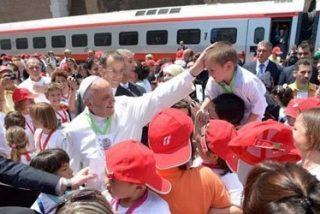El 'Tren de los niños' llega al Vaticano