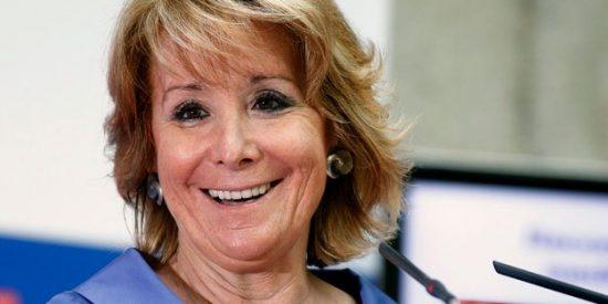 La liberal Esperanza Aguirre corre al rescate del PSOE