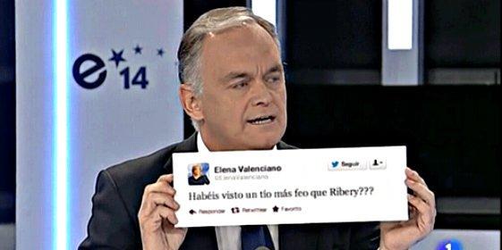 Esteban González Pons defiende a Arias Cañete recordando el tuit de Valenciano sobre el 'feo' Ribéry