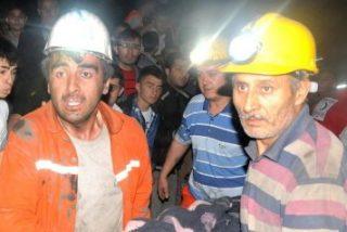 Son ya 201 los hombres muertos en la explosión en una mina en Turquía