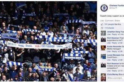 El Chelsea la lía parda en su Facebook