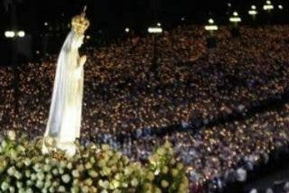 El patriarca de Jerusalén pide a la Virgen de Fátima la paz para Oriente Medio a una semana de la visita papal