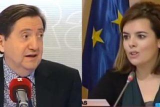 """Losantos endurece su discurso contra el PP: """"Soraya es una piji-progre de Cebrián y de Prisa"""""""