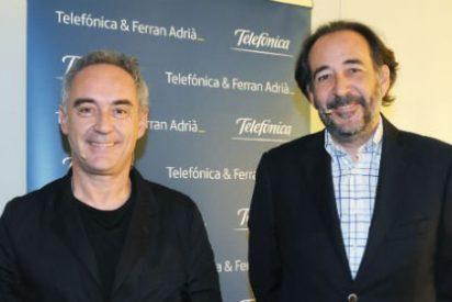 Telefónica y Ferran Adrià renuevan su alianza para seguir desarrollando iniciativas vinculadas a la innovación