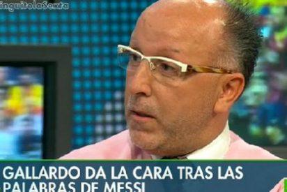 """François Gallardo no rectifica y sigue afirmando que Messi se va del Barça: """"Me mantengo firme"""""""