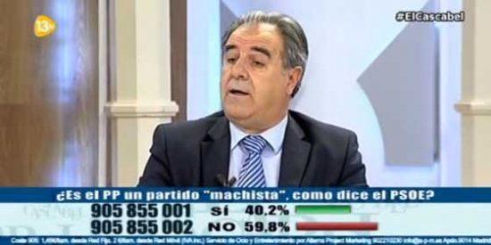 """Graciano Palomo: """"Lo de Cañete fue una cagada y el PSOE cree que ganará golpeando la bolsa de votos de las mujeres"""""""