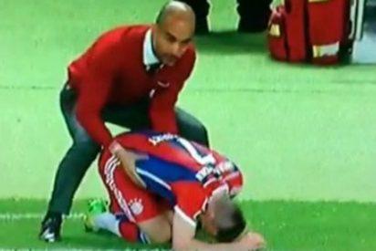 Una obscena fotografía de Guardiola revoluciona Twitter