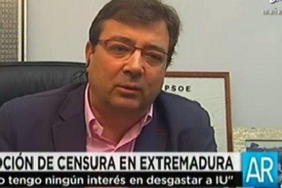 """Guillermo Fernández Vara: """"No tengo ningún interés en desgastar a IU"""""""