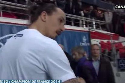 Ibrahimovic se encara con un periodista