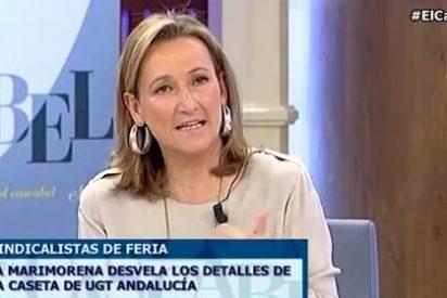 """Isabel Durán: """"UGT echa a gente por falta de dinero, pero sí tiene para una caseta en la Feria de Abril"""""""