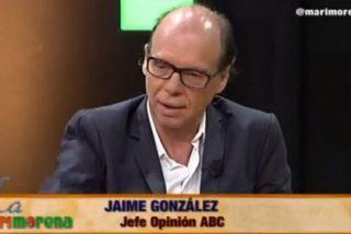 """Jaime González: """"Quien vote a 'Podemos' estará votando a lo que representa lo peor de la condición humana"""""""