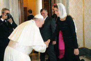 Jordania recibe a Francisco en su primer viaje a Tierra Santa